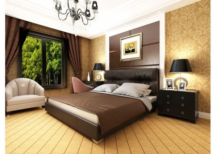Мягкая кровать Novelty Камелия  6