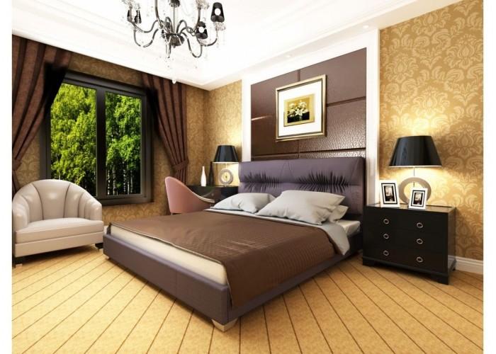 Мягкая кровать Novelty Камелия  7