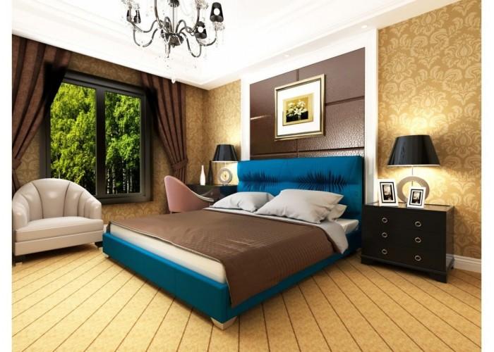 Мягкая кровать Novelty Камелия  9