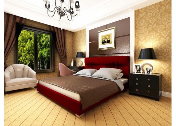 Мягкая кровать Novelty Камелия  10