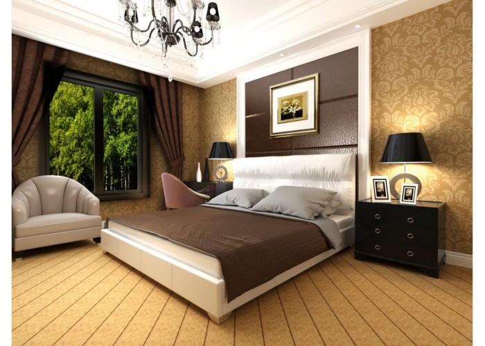 Мягкая кровать Novelty Камелия  2