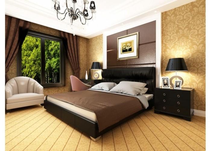 Мягкая кровать Novelty Камелия  5