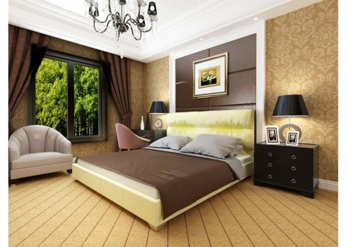 Мягкая кровать Novelty Камелия  8