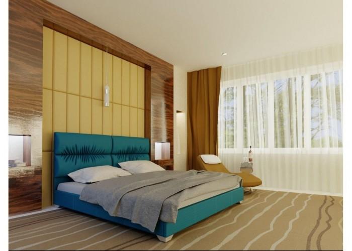 Мягкая кровать Novelty Манчестер  7