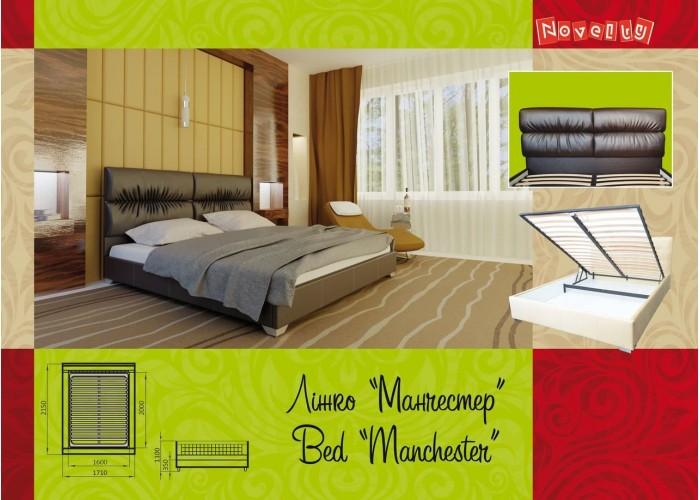 Мягкая кровать Novelty Манчестер  13