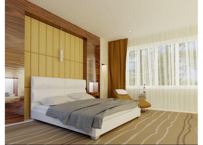 Мягкая кровать Novelty Манчестер  1