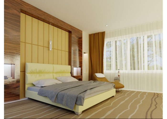 Мягкая кровать Novelty Манчестер  9