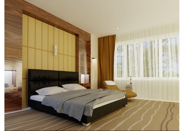 Мягкая кровать Novelty Манчестер  6