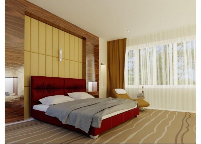 Мягкая кровать Novelty Манчестер  8