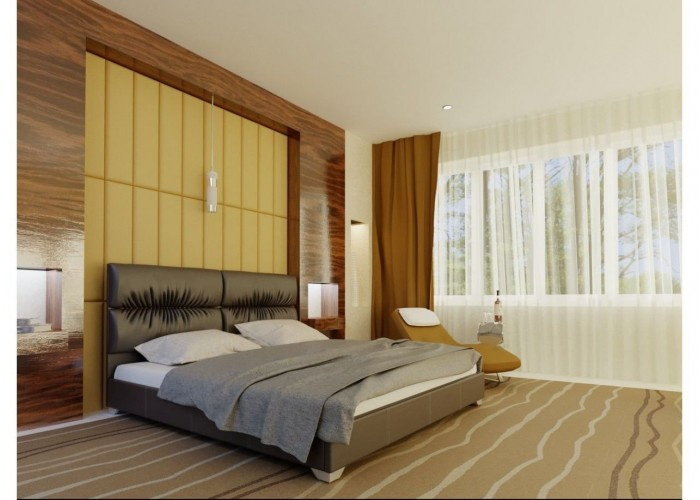 Мягкая кровать Novelty Манчестер  2
