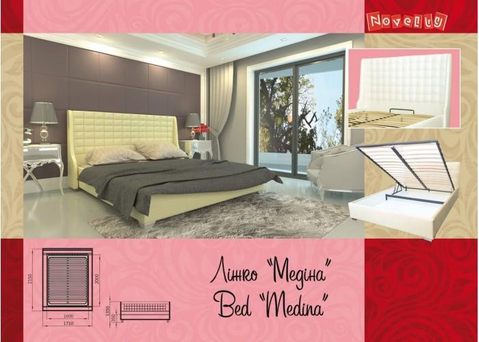Мягкая кровать Novelty Медина  4