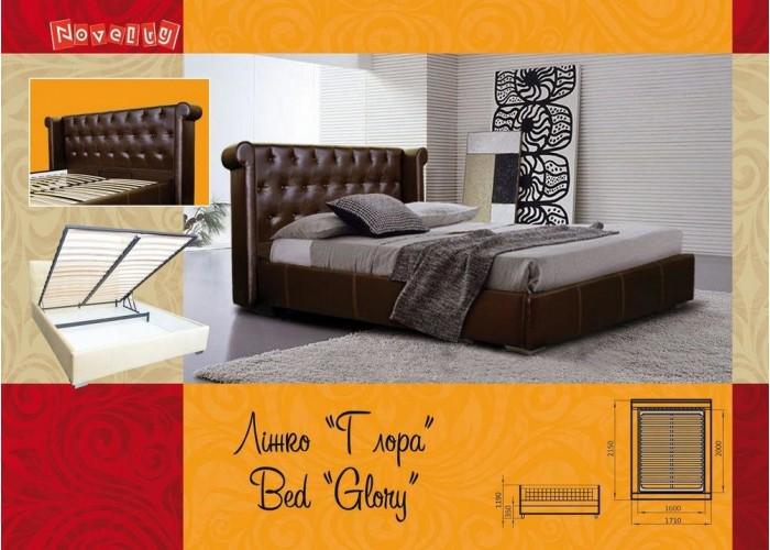 Мягкая кровать Novelty Глора  4