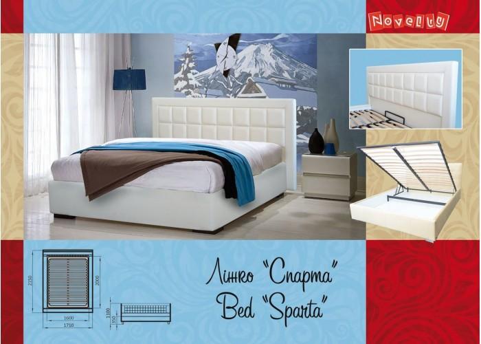 Мягкая кровать Novelty Спарта  10