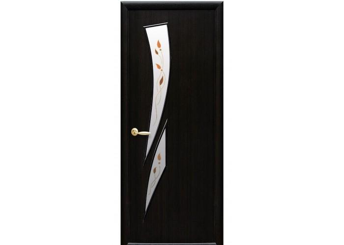 Новый Стиль МОДЕРН Камея DeLuxe (Сатиновое стекло рисунок P1)  1
