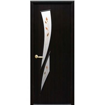 Новый Стиль МОДЕРН Камея Экошпон (Сатиновое стекло рисунок P1)