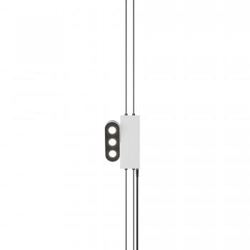 Торшер Skarlat RLL2002 3х2W WH+BK 3000K