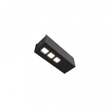 Точечный светильник Skarlat RSLC78036 3x2W BK 3000K