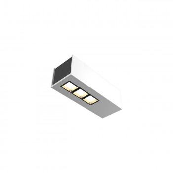 Точечный светильник Skarlat RSLC78036 3x2W WH+BK 4000K