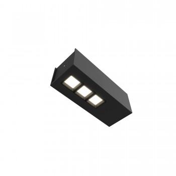 Точечный светильник Skarlat RSLC78037 3x5W BK 3000K