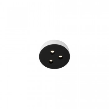 Точечный светильник Skarlat RSLС78032 3x3W WH+BK 4000K