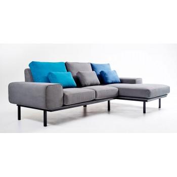 Мягкий угловой диван с подушками - 2