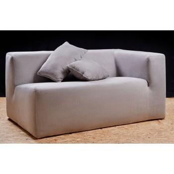 Мягкий угловой диван с подушками - 1