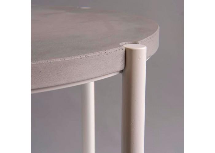 Кофейный столик Moon 40 столешница бетон  5