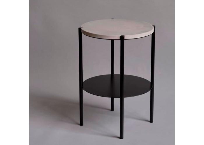 Кофейный столик Moon 40 столешница бетон  4