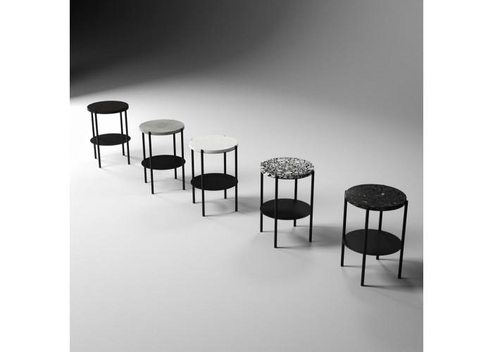 Кофейный столик Moon 40 столешница бетон  6