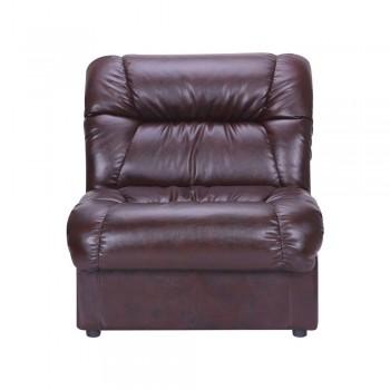 Кресло Визит одноместный модуль Мадрас дк браун