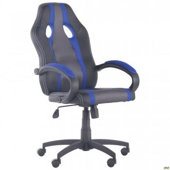 Кресло Shift Неаполь N-20/Сетка серая, вставки Сетка синяя
