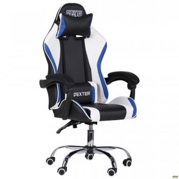 Кресло VR Racer Dexter Frenzy черный/синий