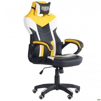 Кресло VR Racer Dexter Jolt черный/желтый