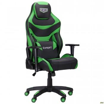 Кресло VR Racer Expert Champion черный/зеленый