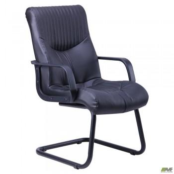 Кресло Геркулес CF Кожа Сплит черная