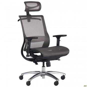 Кресло Coder Black, Alum, Grey