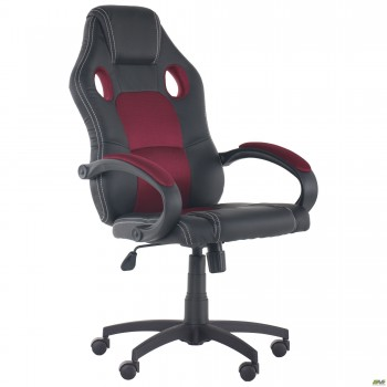 Кресло Chase Неаполь N-20/Сетка бордовая