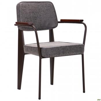 Кресло Lennon кофе / бетон