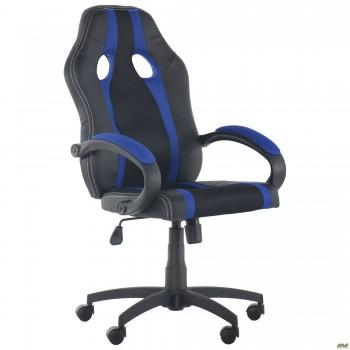 Кресло Shift Неаполь N-20/Сетка черная, вставки Сетка синяя