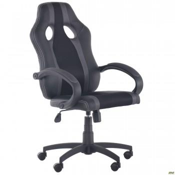 Кресло Shift Неаполь N-20/Сетка черная, вставки Сетка серая
