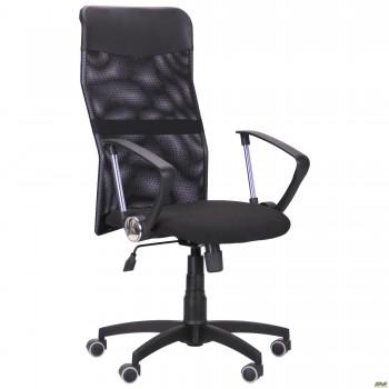 Кресло Ultra сиденье А-1/спинка Сетка черная, вставка Скаден черный