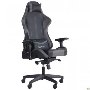 Кресло VR Racer Expert Lord черный/серый