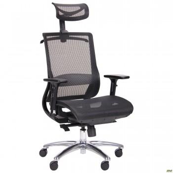 Кресло Coder Black Alum Black