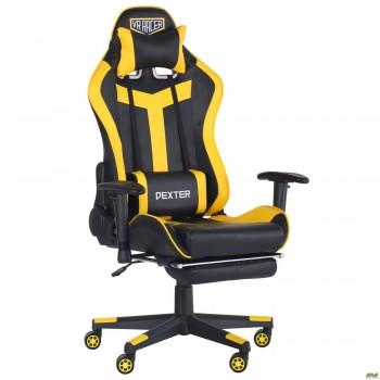 Кресло VR Racer Dexter Rumble черный/желтый