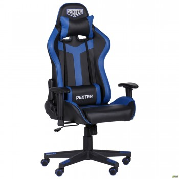 Кресло VR Racer Dexter Slag черный/синий