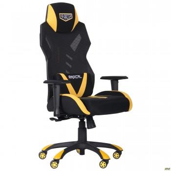 Кресло VR Racer Radical Wrex черный/желтый