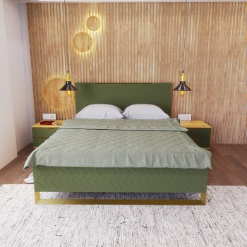 Кровать Swan Бали Зелёный 1600*2000