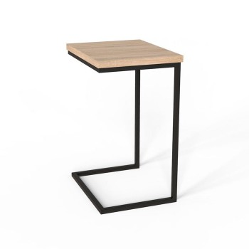 Придиванний Стол Fiji Mono Черный / Сонома