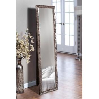 Напольное зеркало в рост в цвете графит 1650х400 мм