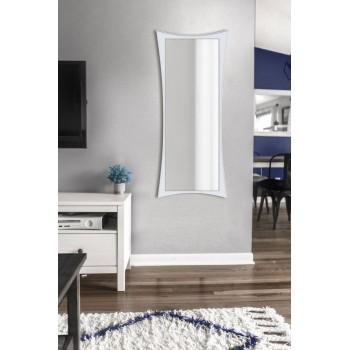 Зеркало настенное ростовое, белое 1300х550